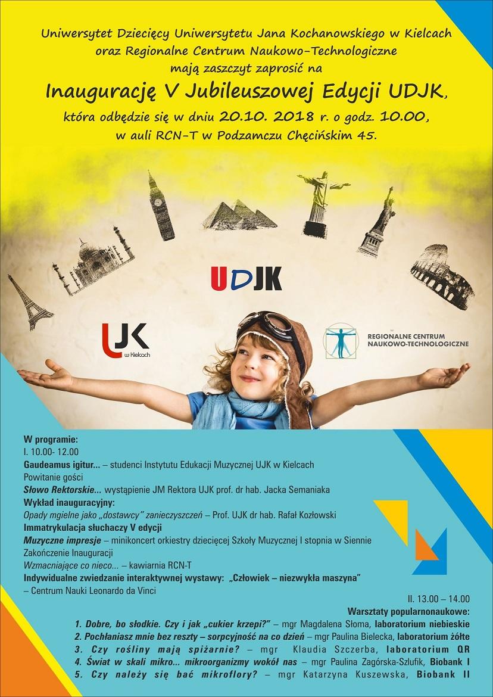 Plakat inauguracja 2018