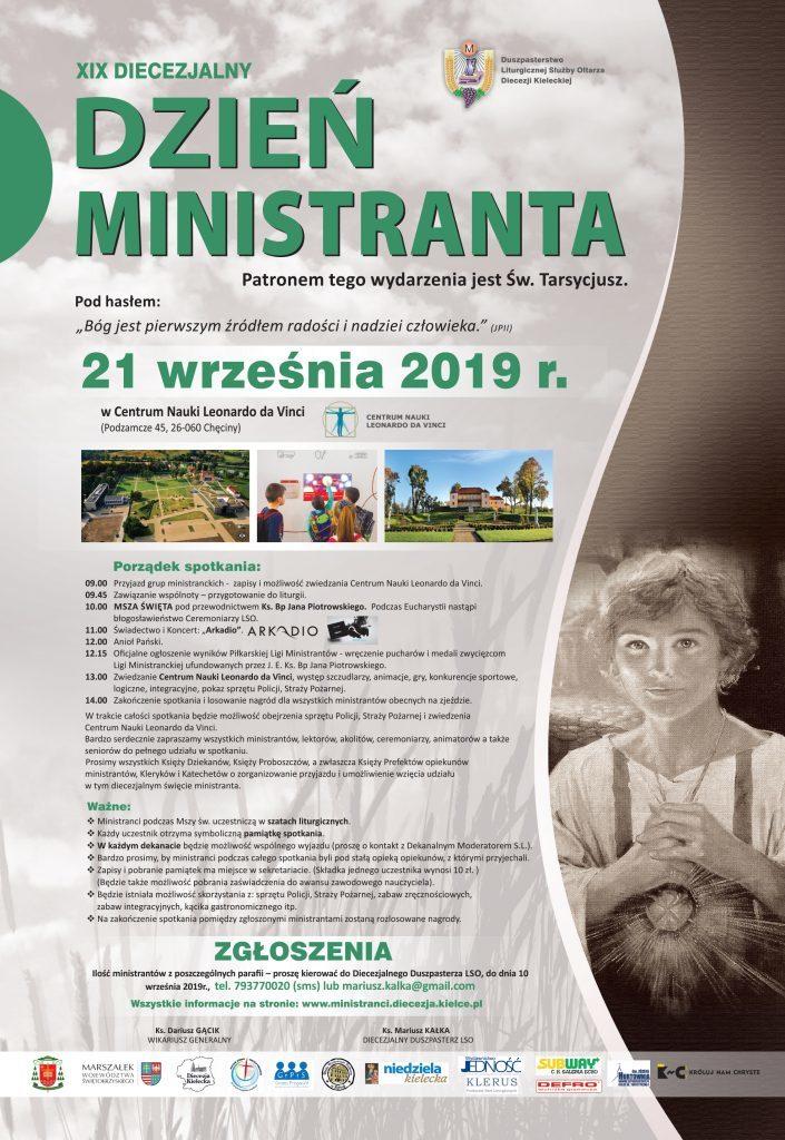 Plakat Dzien Ministranta 2019 705x1024